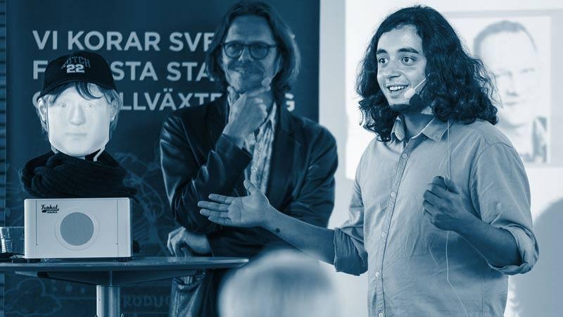 Sveriges största entreprenörstävling avgörs i Almedalens egna Silicon Valley
