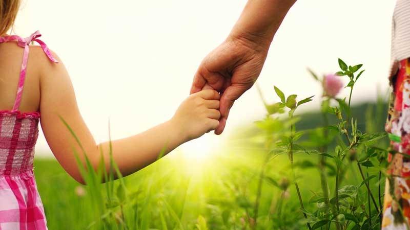 Far och dotter - entreprenör och blivande företagare