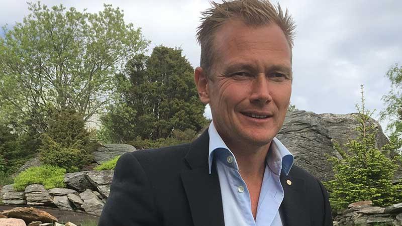 Niklas Alm, entreprenör och författare. Text av Carin Andrén