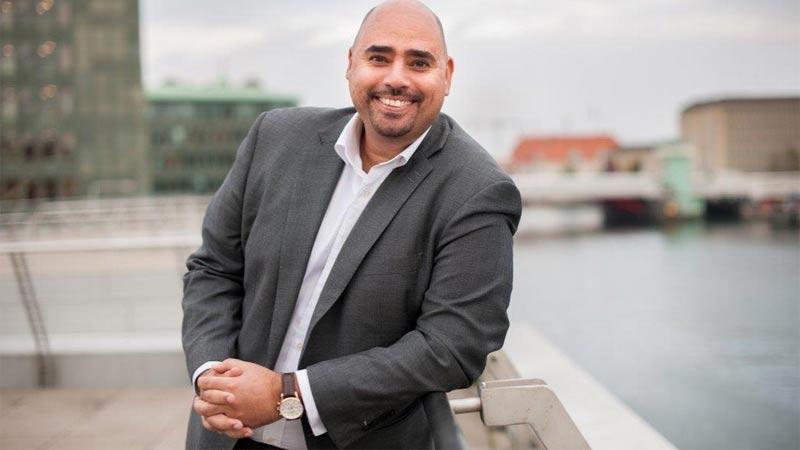 Sami Sulieman, VD för Prescott Lewis. Författad av Johanna Järvstråt, Foto Jens C Hilner