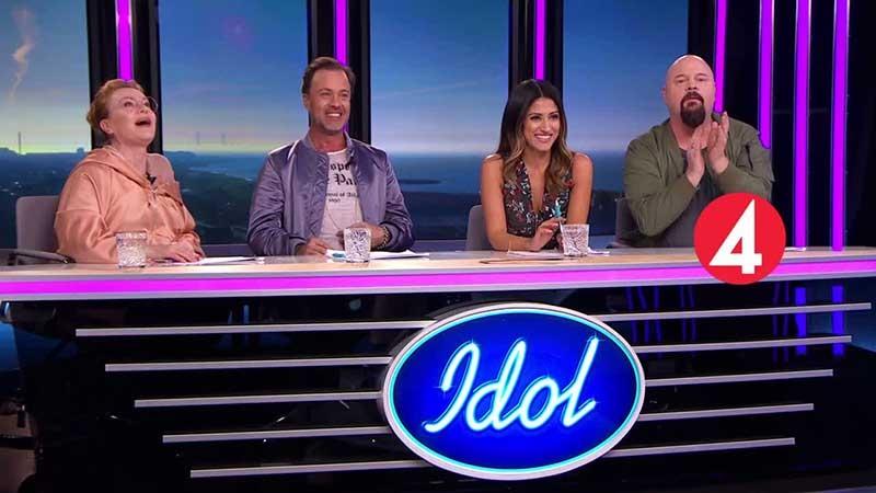 Idol-juryn 2017