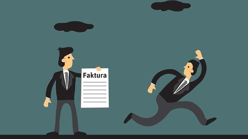 Fakturasmitare som inte betalar fakturan kan drabba småföretagare hårt