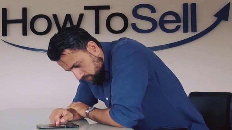 Navid Fard, VD på HowToSell