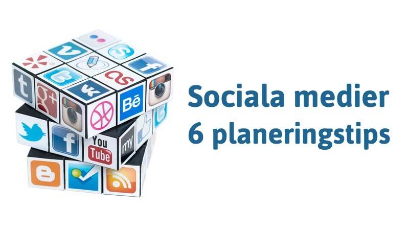Plan & strategi för sociala medier. Författad av Lisa Vainio