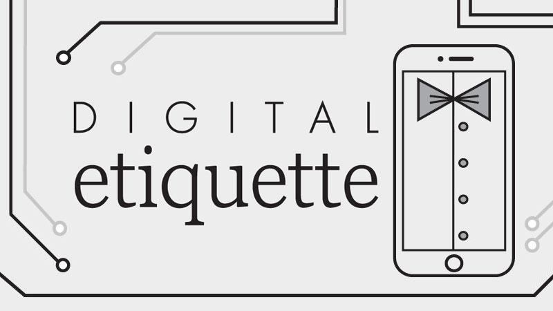 Digital etikett: Hur du uppfattas som smartphone-smart
