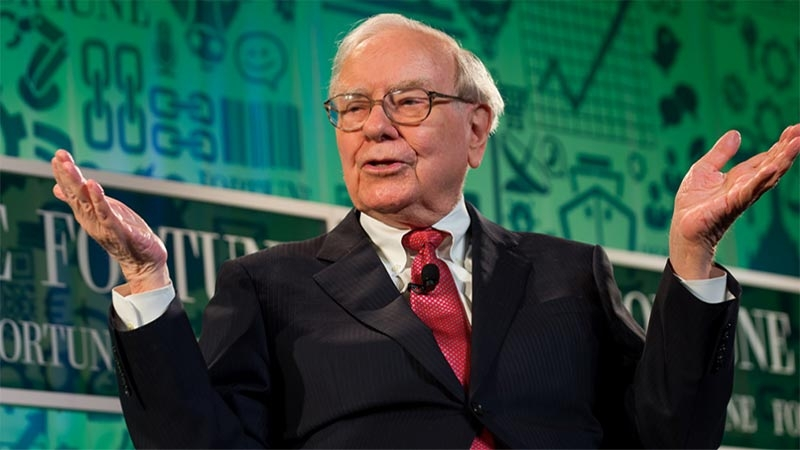 Warren Buffett VD för Berkshire Hathaway och en av världens mest kända och betydande filantroper. Foto: Stuart Isett/Fortune Most Powerful Women/flickr