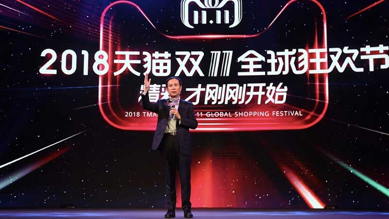 Alibaba Group CEO Daniel Zhang. Foto: Yiling Pan