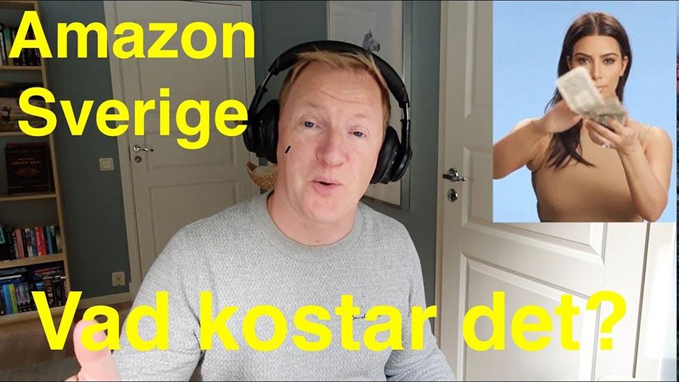 Hur mycket tar Amazon i provision på dina försäljningar?