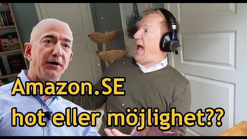 Amazon, bakgrund och strategi inför Sverigelanseringen