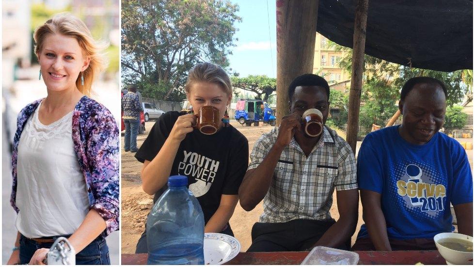 Från småländska Emils Mariannelund till distansjobb i Tanzania
