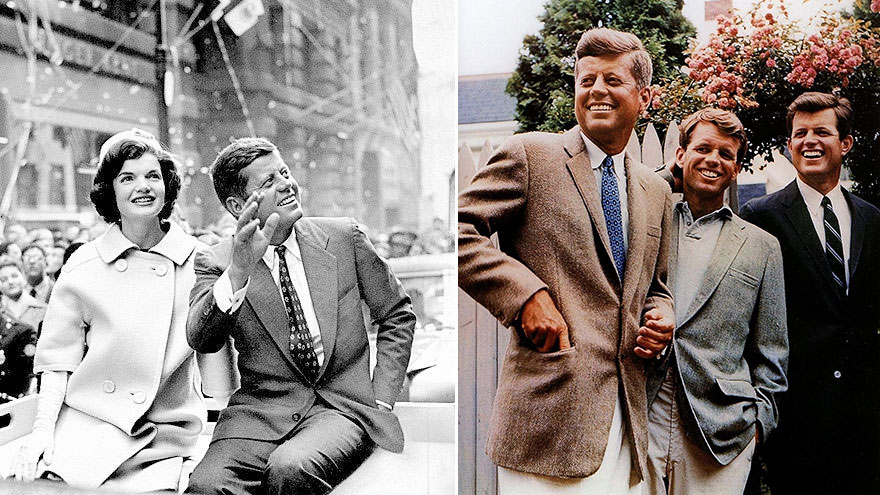 JFK - Stilikon att inspireras av