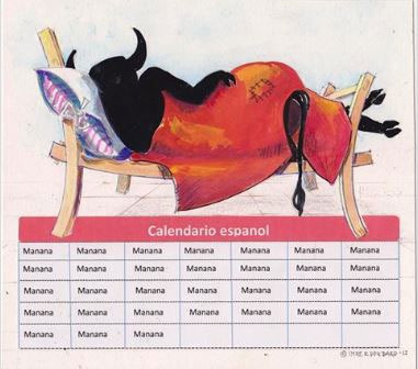 Spansk kalender