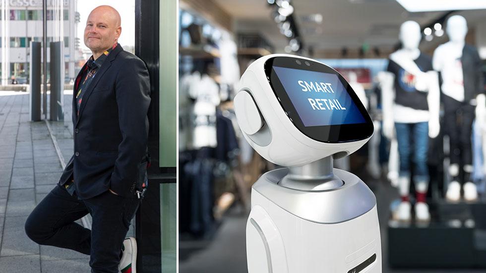 Max Söderpalm, aktuell med boken AI och försäljning.