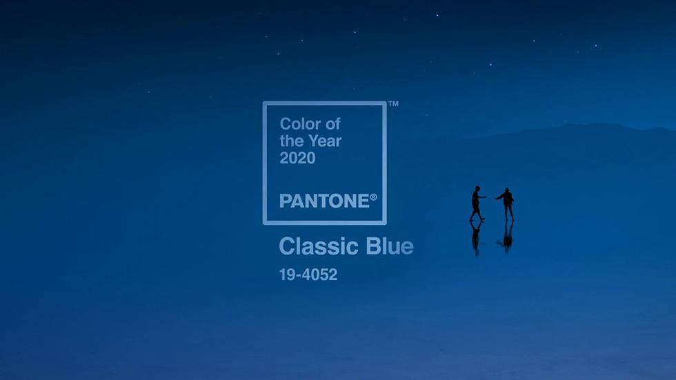 Classic Blue årets stora trendfärg 2020