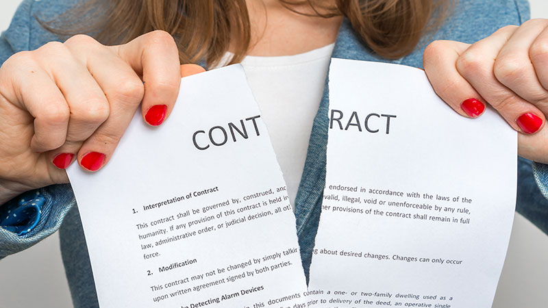Hur du bryter avtal för nyproduktion av lägenhet