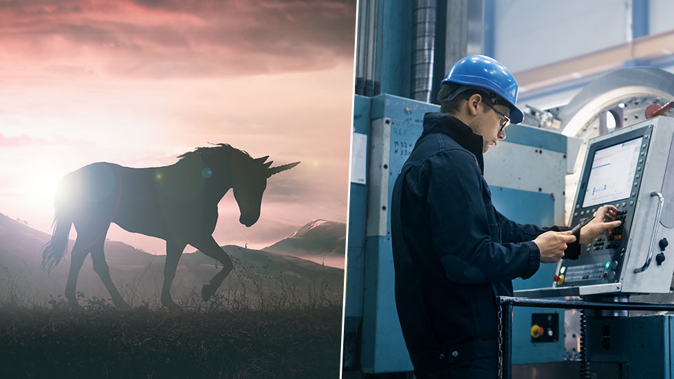Innovation: Unicorns vs Trist traditionell industri