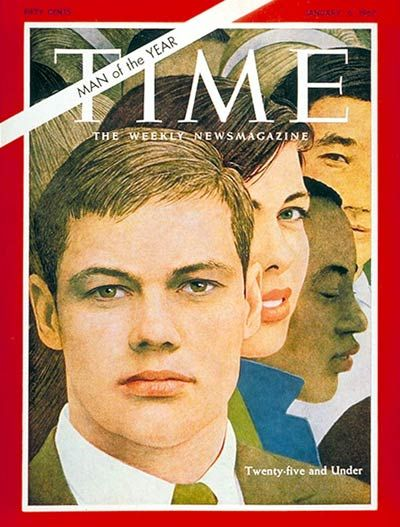 TIME Magazine omslaget - Man of the year 1966